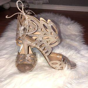 Jessica Simpson Gem Wing Heels